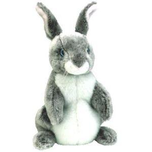 MANGEOIRE - TRÉMIE la trémie lapin de Pâques gris et blanc - bébés bo