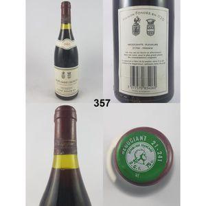 VIN ROUGE Nuits-Saint-Georges - Liger-Belair 1982 - N° : 357