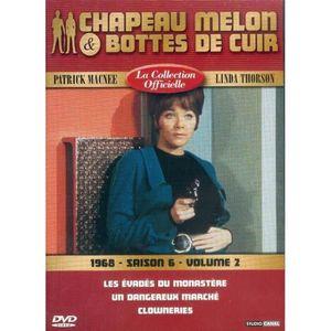DVD SÉRIE Chapeau melon et bottes de cuir S6 V2 1968 Les Eva