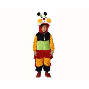 DÉGUISEMENT - PANOPLIE Costume déguisement Chenille multicolore - 3-4ans