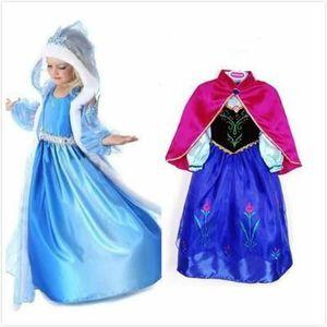 DÉGUISEMENT - PANOPLIE Deux Robe Elsa Anna Déguisement la Reine Neiges Ca