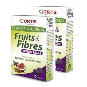 DIGESTION - TRANSIT  Ortis - Fruits et Fibres - Transit facile - Lot 2