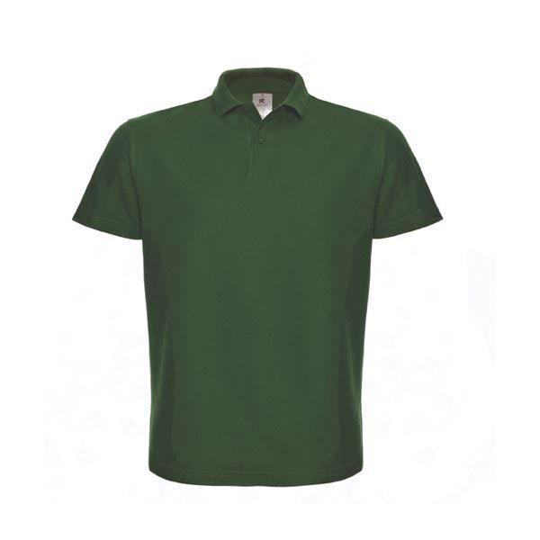 B&C Heavymill - Polo à manches courtes - Homme (XL) (Vert bouteille) lbfaI