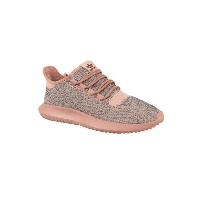 designer fashion 07b00 7de04 baskets mode adidas originals by9740 tubular shadow w rose