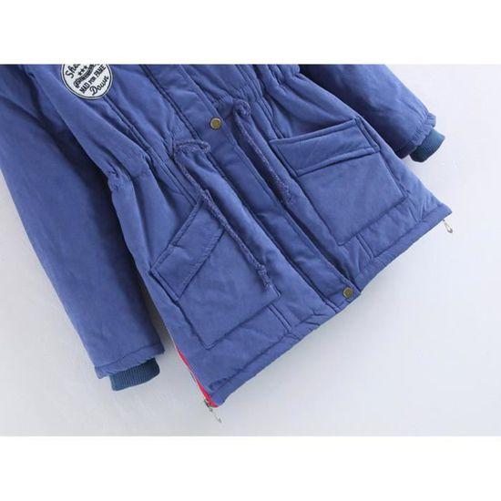 À Manteaux Slim Long Womens Fourrure D'hiver Veste En Chaud Manteau Bj355 Parka Capuche Col Outwear gZqzxw0Oq