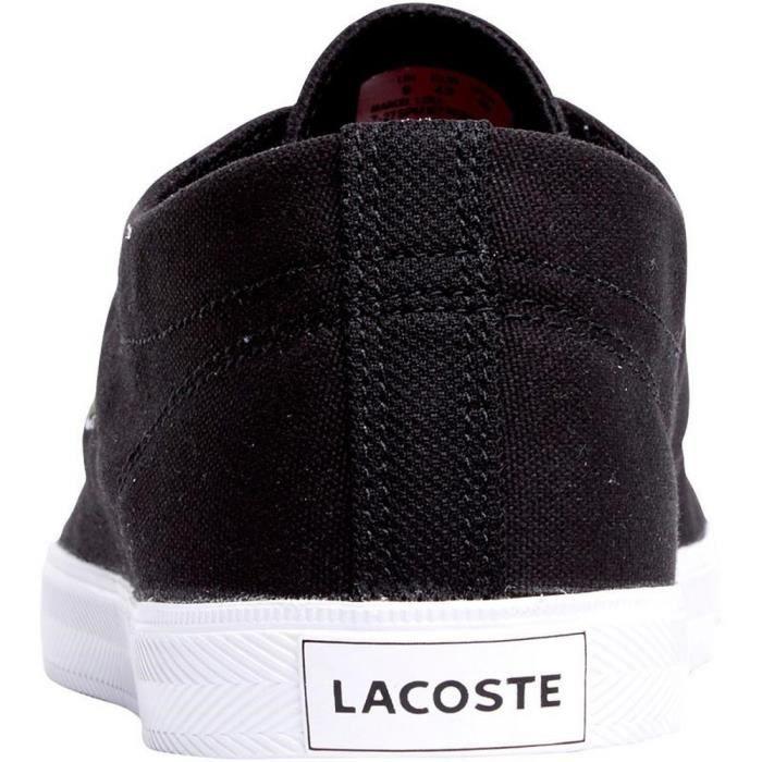 Baskets Femme Lacoste en Toile RBC Noires