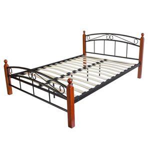 lit en bambou achat vente lit en bambou pas cher cdiscount. Black Bedroom Furniture Sets. Home Design Ideas