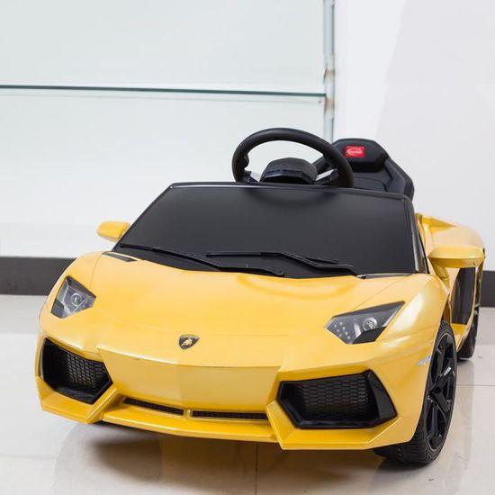 Enfants Électrique Lamborghini Aventador De Jouet Rastar 6v Voiture 3Fu5lKT1Jc