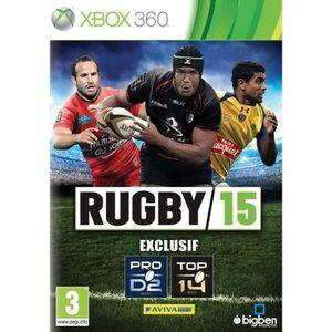 JEU XBOX 360 Rugby 15 Jeu XBOX 360