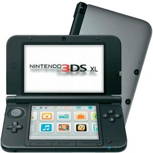 CONSOLE 3DS Pack Console Nintendo 3DS XL SilverJ + New Supe…