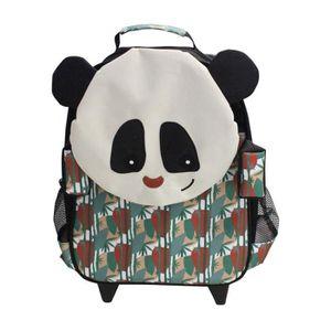 CARTABLE Cartable trolley Rototos le Panda Les Déglingos Bl