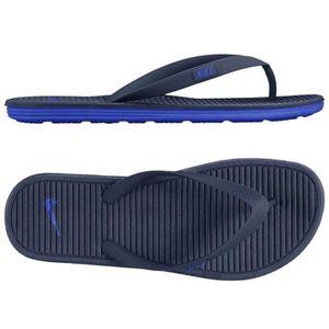 f41f6b0ecc887 TONG Tongs Nike Solarsoft II 488160 444 Bleu.