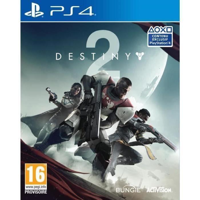 JEU PS4 Destiny 2 Jeu PS4 + 1 Hand Spinner Offert
