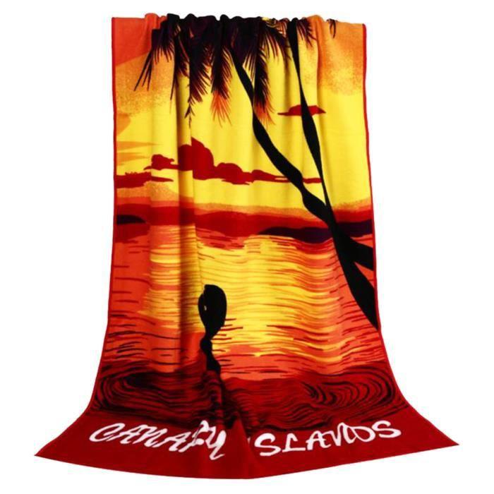 serviette de plage homme achat vente serviette de plage homme pas cher cdiscount. Black Bedroom Furniture Sets. Home Design Ideas