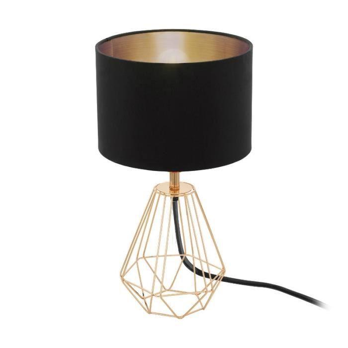 Eglo Lampe Sur Pied Carlton 2 H30 5 Cm Cuivre Rose Achat