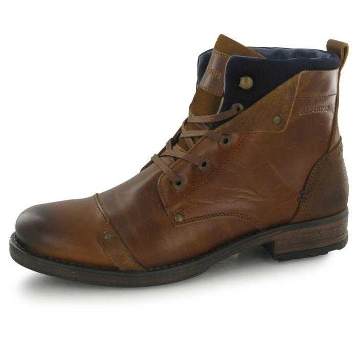chaussures hommes Reskins Yedes Cognac/Marine Pointure 40,41,42,43,44,45
