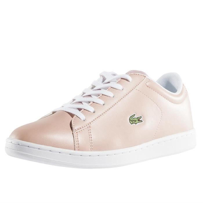cdaf1aaaf7 Lacoste Femme Chaussures / Baskets Carnaby EVO 317 SPJ LT Rouge ...