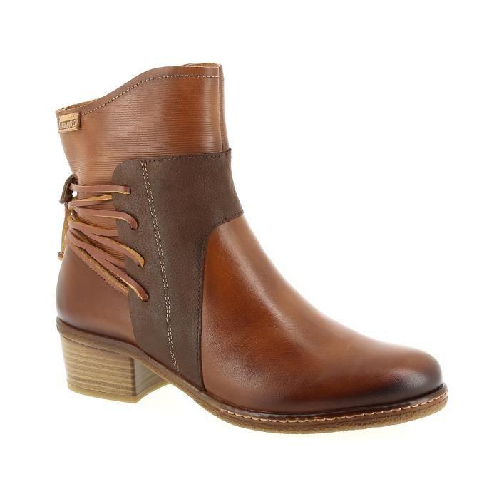 Pikolinos W9H-8926 Marron - Chaussures Bottine Femme