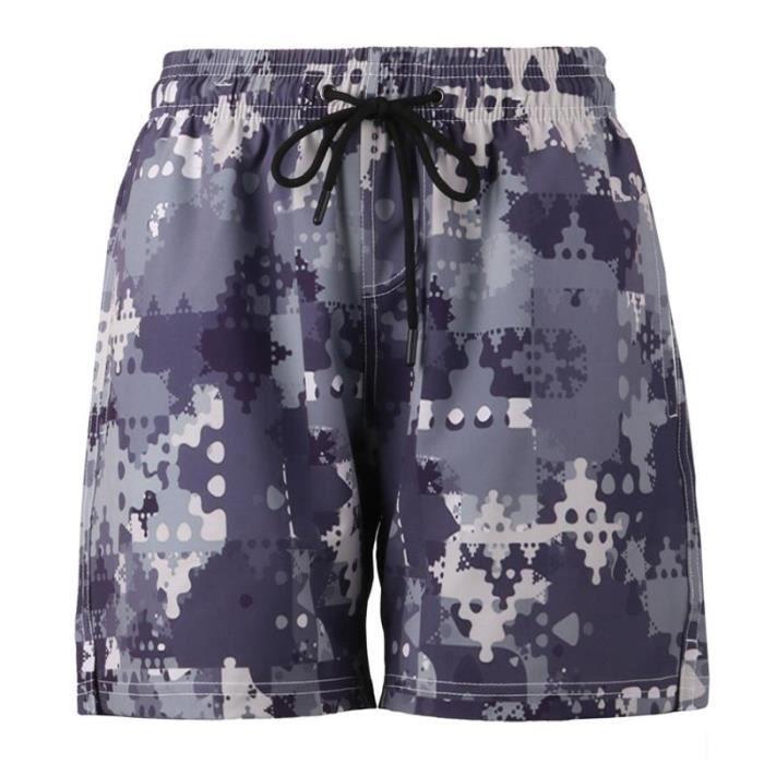 haut de gamme véritable détaillant en ligne sur des coups de pieds de Maillot de Bain Homme de Camouflage Séchage Rapide Shorts Imprimé Plage  Surf Fashion