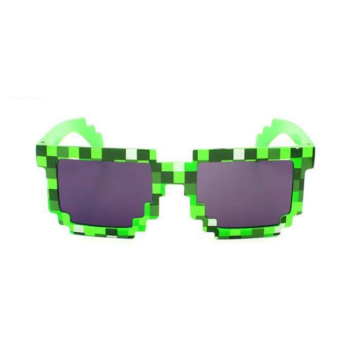An-1043 Vintage Place nouveauté Mosaic Lunettes de soleil unisexe lunettes de soleil GN vert