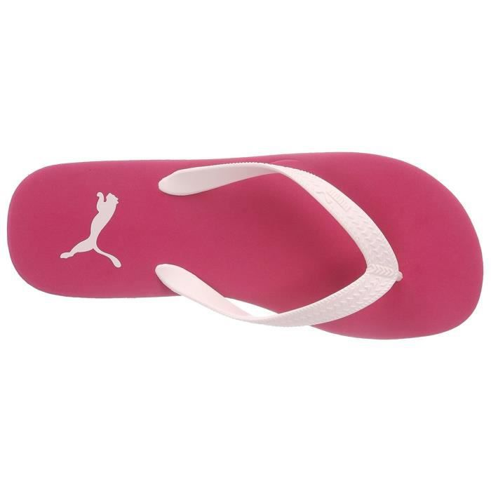 PUMA First Flip Tong Enfant - Taille 35.5 - ROSE
