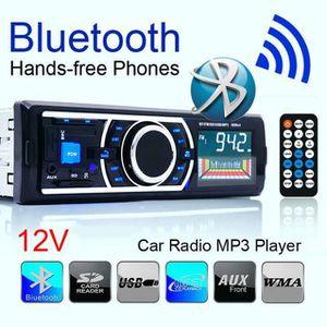 AUTORADIO Bluetooth Car Stereo Audio In-Dash MP3 FM Aux entr .