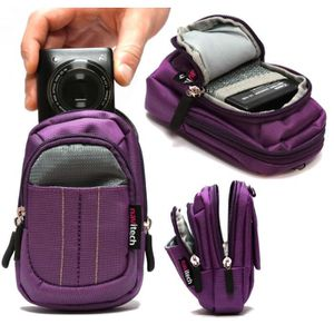 APPAREIL PHOTO BRIDGE Navitech housse étui violet pour Nikon Coolpix L29