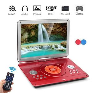 LECTEUR DVD PORTABLE Lecteur DVD Portable 16'' Voiture Rechargeable 270