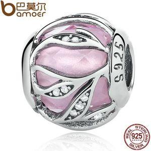 Charm's Rose Charm Compatible Pandora Bracelet Femme Éclat