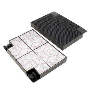 FILTRE POUR HOTTE Filtre charbon (par 2) 193x137 pour Hotte Ariston,