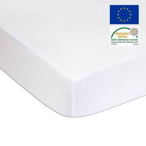 PROTECTION MATELAS  Alèse éponge Coton Bio + PU - lit king size 160x20