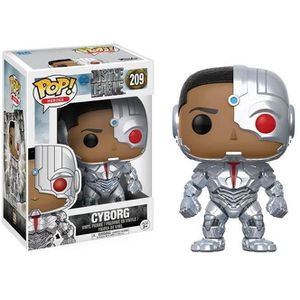 FIGURINE - PERSONNAGE Figurine Funko Pop! Justice League : Cyborg