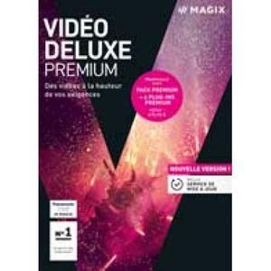 MULTIMÉDIA À TÉLÉCHARGER MAGIX Video Deluxe 2018 Premium (Code STEAM en tél