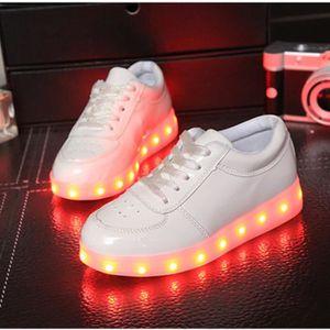 7 Couleur LED USB frais enfant chaussures lumin... 4pKc64CKqd