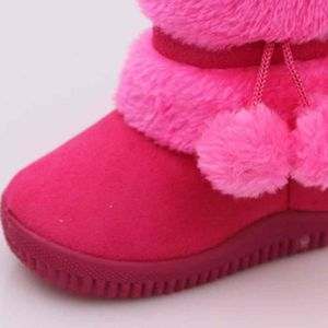 BOTTE Fille Boule Coton Mode Hiver Bébé Enfant Coton Sty