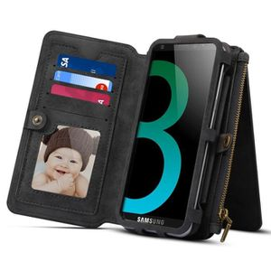 HOUSSE - ÉTUI Housse Étui noir pour Samsung Galaxy S9 et A8 2018