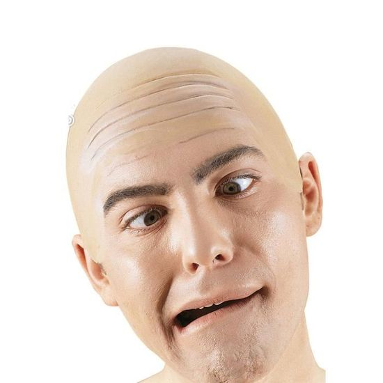 Faux crane chauve perruque Deguisement -