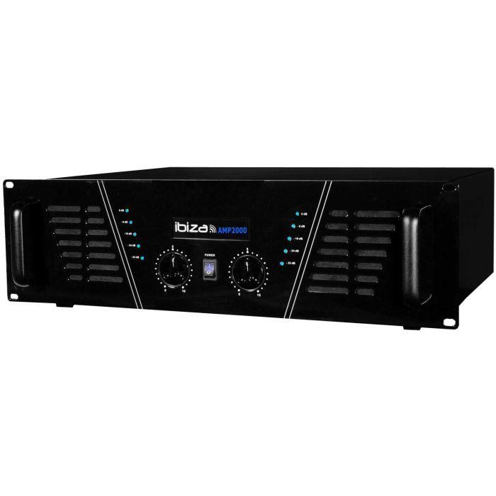 IBIZA SOUND AMP2000 Amplificateur de sonorisation 2 x 1500w