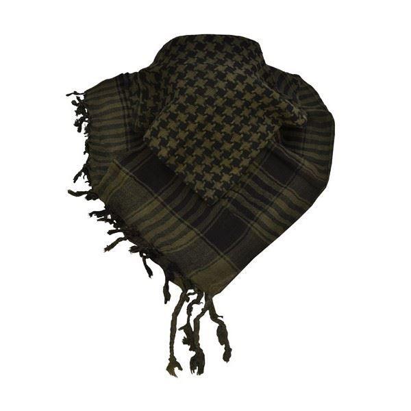 5e9e224993f0 Keffieh Foulard noir   kaki - Homme   Femme Vert - Achat   Vente ...