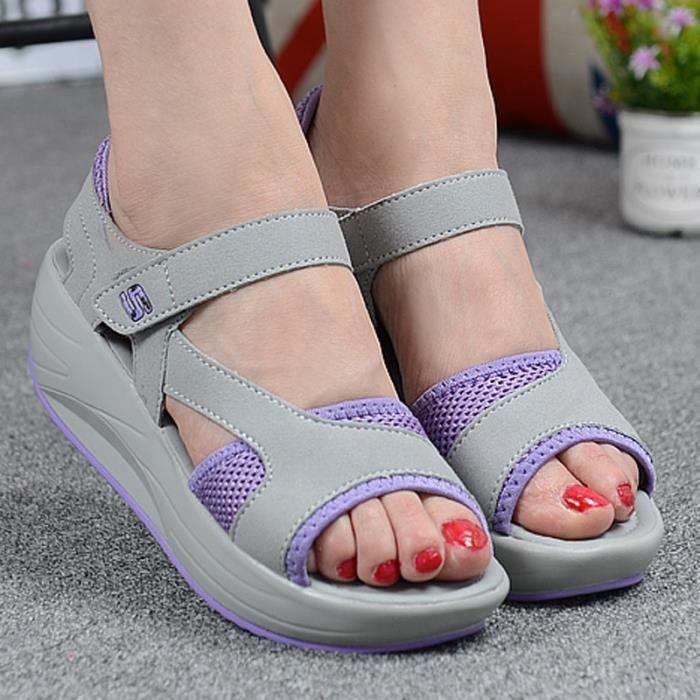 Sandales Femmes d'été Plate-forme