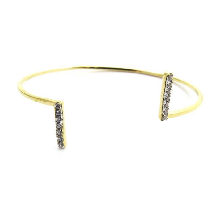 Les Trésors De Lily [N2887] - Bracelet plaqué or ou Sissi