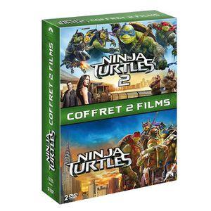 DVD FILM DVD Coffret Ninja Turtles / Ninja Turtles 2