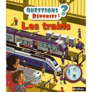 Livre 6-9 ANS Les trains