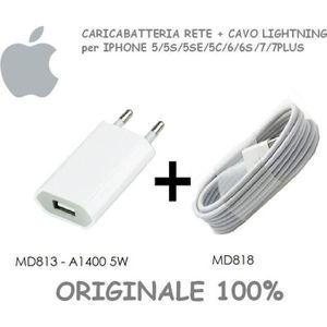 CÂBLE TÉLÉPHONE CHARGEUR DE BATTERIE pour Apple iPhone original 1A