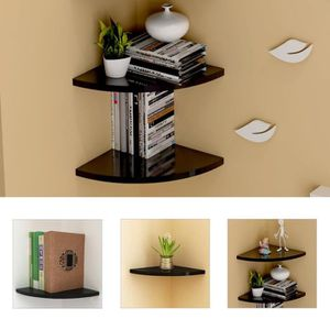 etagere d angle murale achat vente pas cher. Black Bedroom Furniture Sets. Home Design Ideas