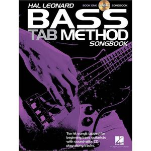 PARTITION Hal Leonard Bass TAB Method Songbook 1