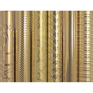 PAPIER CADEAU CLAIREFONTAINE Papier Cadeau Or - 1 Rouleau 2x0,7m