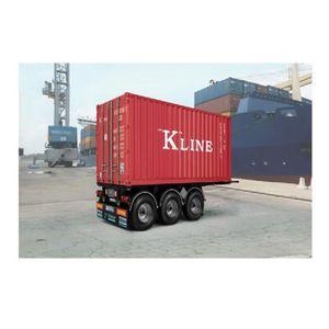 VOITURE À CONSTRUIRE Maquette Remorque : Semi-Remorque - Container 20'