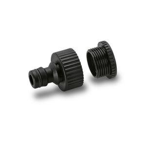 ROBINET - RACCORD KARCHER Nez de robinet G 3/4 avec réducteur G 1/2