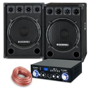 PACK ACCESSOIRES McGrey PA set complet PowerDJ-2500 1600W
